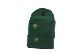 Tea Wallet - Holiday Stars - Green