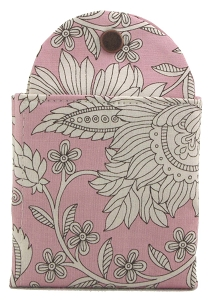 Tea Wallet - Gainsborough Pink