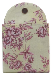 Tea Wallet - Lemon Toile