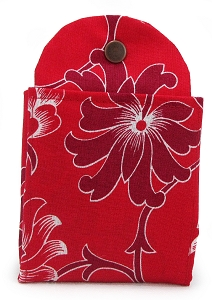Tea Wallet - Red