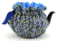 Wrap Around Tea Cozy 2 Cup Blueberries 'n Cream