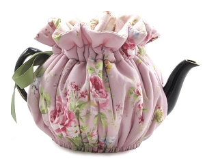 Wrap Around Tea Cozy 4 Cup English Rose Lavender