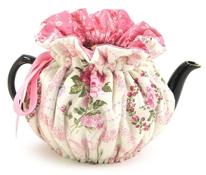 Wrap Around Tea Cozy 2 Cup Pink Parlor