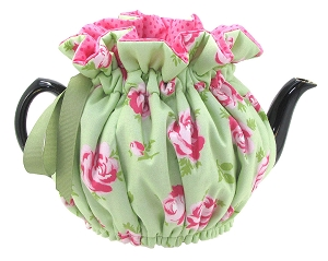 Wrap Around Tea Cozy 6 Cup Rose Mint