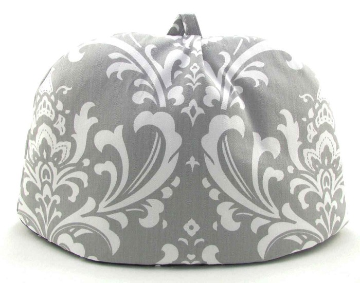 Classic Tea Cozy 2/4 Cup Gray Chateau