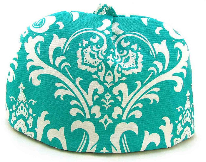 Classic Tea Cozy 6/8 Cup Turquoise Chateau