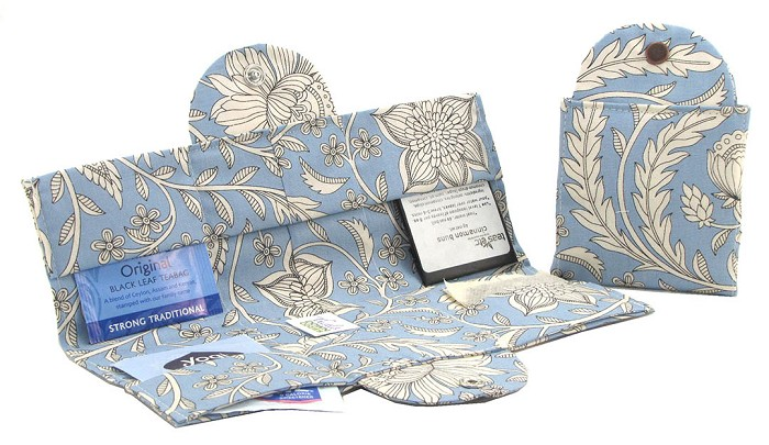 Tea Wallet - Gainsborough Blue