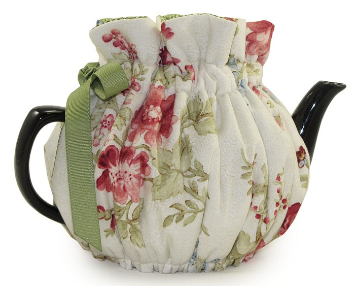 Wrap Around Tea Cozy 2 Cup Jardin Fleur