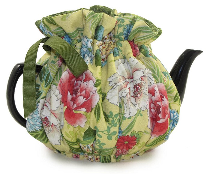 Wrap Around Tea Cozy 4 Cup Ki Koo Gardens
